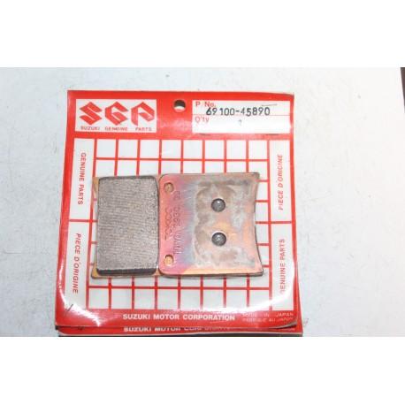 Plaquette de frein arrière pour Suzuki VX800 90-96 Vintage
