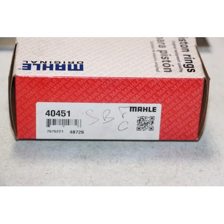 Jeu de sepour gments Mahle V8 sb pour Ford 40451 101,6 mm 5/64