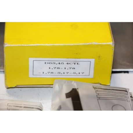 Jeu de sepour gments 4 cylindres Ondulex Doublex diametre 63,45