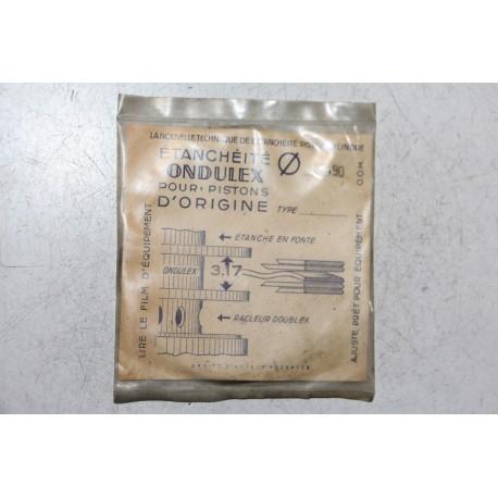 Jeu de Sepour gments 1 piston Ondulex doublex diametre 88,90mm
