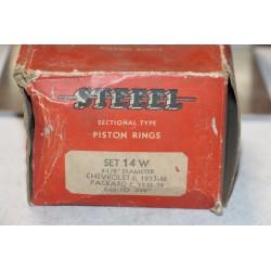 Jeu de sepour gments 6 pistons pour Chevrolet 6 1937-1946 diametre 3-1/2''