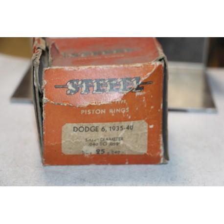 Jeu de sepour gments 6 pistons pour Dodge 6 1935-1940  diametre 3-1/4'' cote +040