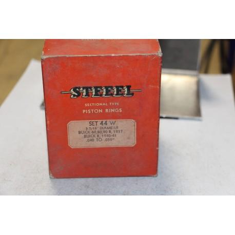 Jeu de segments 8 pistons pour Buick 60, 80, 90 de 1937 pour