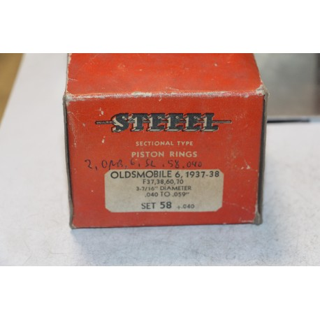 Jeu de sepour gments 6 pistons pour Oldsmobile f37, 38 60, 70