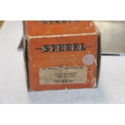 Jeu de sepour gments 6 pistons pour Plymouth de 1935 à 1940 diamètre 3-1/8'' std à 019''