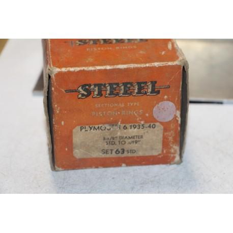 Jeu de sepour gments 6 pistons pour Plymouth de 1935 à 1940