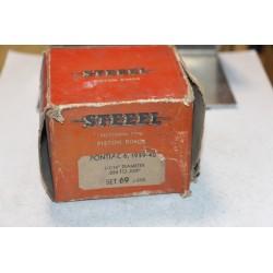 Jeu de sepour gments 6 pistons pour Pontiac 6 de 1939 à 1940 diamètre 3-7/16'' 020 à 029''