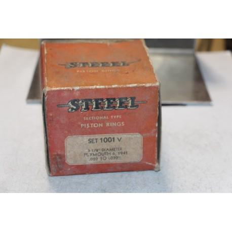 Jeu de sepour gments 6 pistons pour Plymouth 6 de 1941 diamètre 3-1/8''  cote 020 à 039''