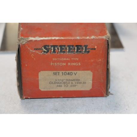 Jeu de sepour gments 6 pistons pour Oldsmobile de 1939 à 1940