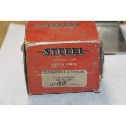 Jeu de sepour gments 6 pistons pour Oldsmobile de 1939 à 1940 diamètre 3-7/16'' 040-059''