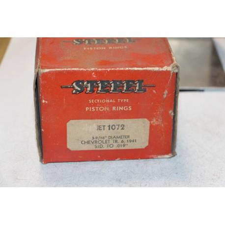 Jeu de sepour gments 6 pistons pour Chevrolet de 1941 diamètre 3-9/16''  standard à 019''