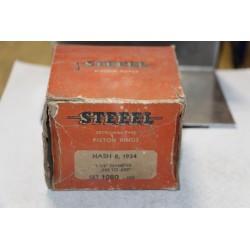 Jeu de sepour gments 8 pistons Nash 8 de 1934 diamètre 3-1/8'' cote 020 à 029
