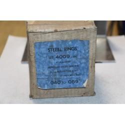 Jeu de sepour gments 8 pistons Hercules Diesel piston Zollner diamètre 4'' 040-059''