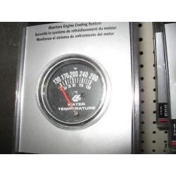 Manometre temperature d eau Vintage Garage