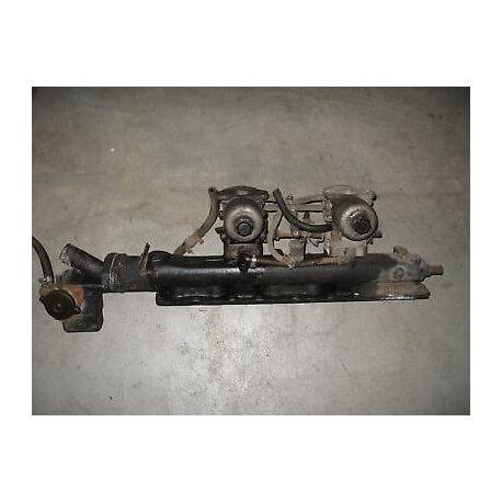 double carburateur JAGUAR avec pipe admission