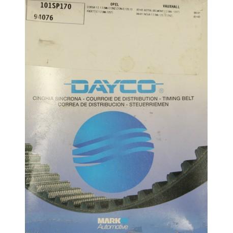 Courroie de distribution Dayco pour Opel corsa A 1.2 50cv ou