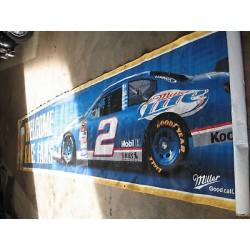 affiche publicitaire course pour NASCAR/ PRIX SPECIAL NOEL
