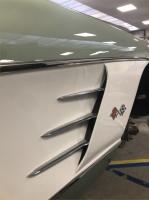 Corvette en cours de restauration