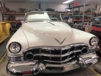 Cadillac 50 en cours de restauration dans notre atelier